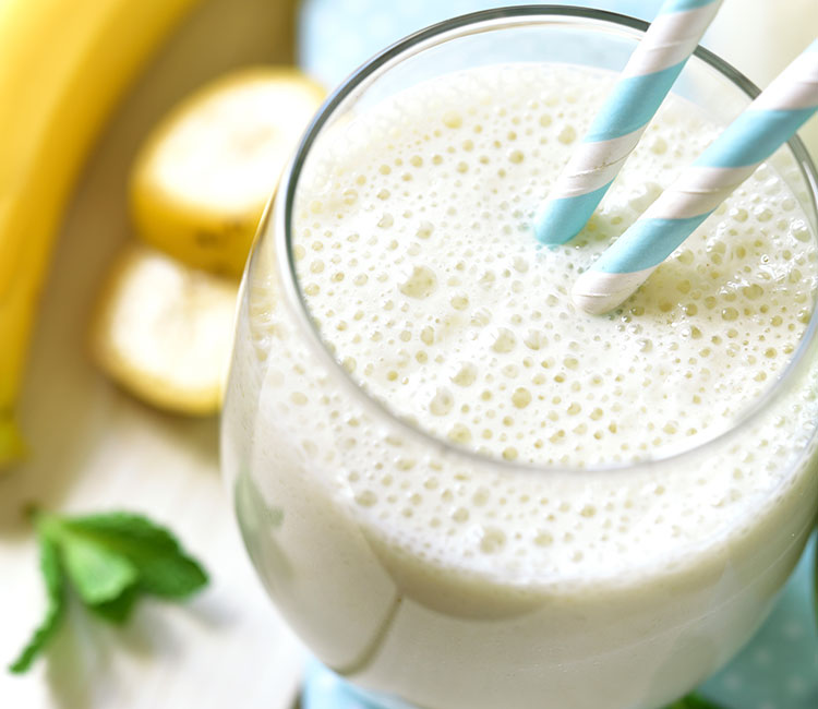 Banana Honey Protein Smoothie